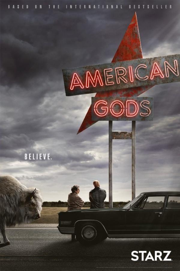 Американские боги / American Gods / Сезон 01, Серия 01-08 [WEBRip x264] (BaibaKo)